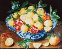 Diamond Painting Kit Still Life with Lemons (Hulzdonck)