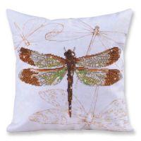 Diamond Painting Cushion Kit Dragonfly Earth