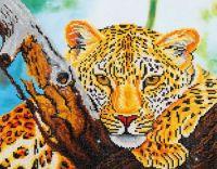 Diamond Painting Kit Leopard Look