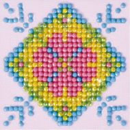 Diamond Painting Kit Patchwork Mandala 2