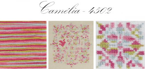 Dmc Coloris no 4502 Camelia