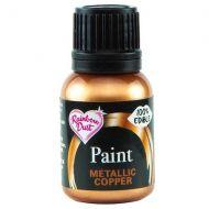 Edible Food Paint 25ml - Copper