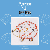 Anchor Embroidery 1st Kit: Hedgehog