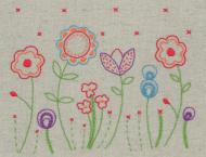 Anchor Starter Embroidery Kit Fleur