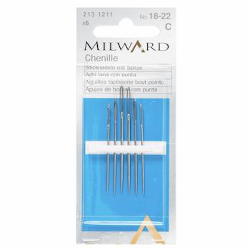 Milward Chenille Needles size 18/22