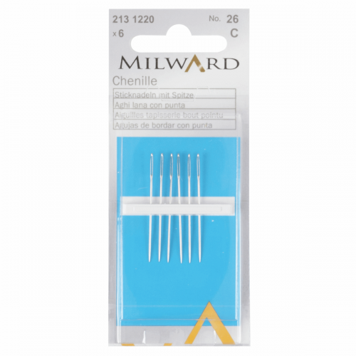 Milward Chenille Needles Size 26