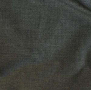 Plain Polycotton Fabric School Grey