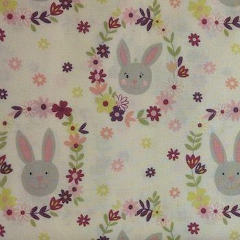 Lewis & Irene Bunny Garden Rabbits