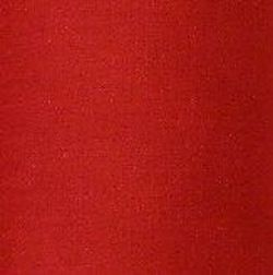 Plain Polycotton Fabric Red