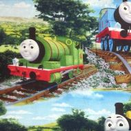 Quilting Treasures All Aboard Thomas the Tank Engine