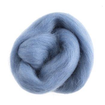 Wool Roving 10g Light Blue