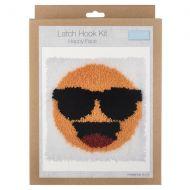 Trimits Latch Hook Kit - Happy Face