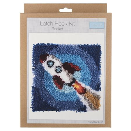Trimits Latch Hook Kit - Rocket