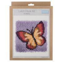 Trimits Latch Hook Kit - Butterfly