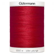 Sew-All Thread 1000m - Red 156