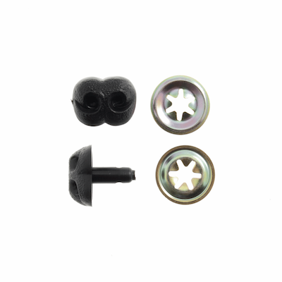 Toy Noses 12mm Black