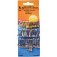 Pony Safety Pins Assorted