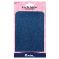 Iron-on Patches - Medium Denim