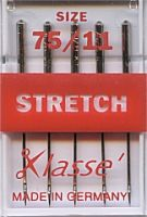 Klasse Sewing Machine Needles Stretch 75/11