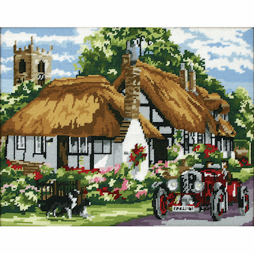 Anchor Village of Welford Tapestry Kit.