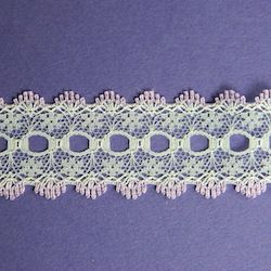 Knit-in Eyelet Lace Lilac 30mm