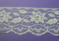 65mm Nylon Lace Cream lace 129