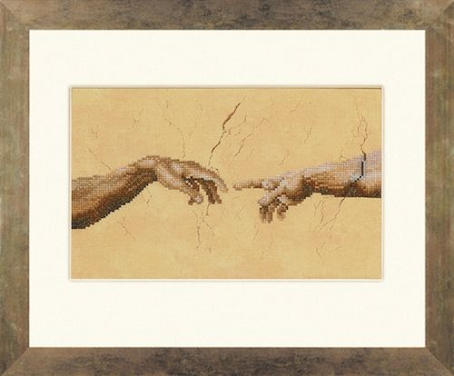 Creation Counted Cross Stitch Kit by Lanarte