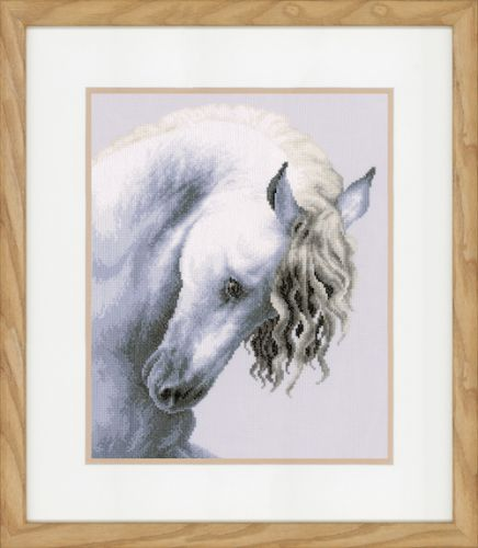 Impetuous Roan (Aida) Counted Cross Stitch Kit by Lanarte