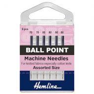 Machine Needles - Ballpoint Assorted