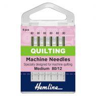 Machine Needles - Quilting Medium 80/12