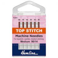 Machine Needles - Top-Stitch 90/14