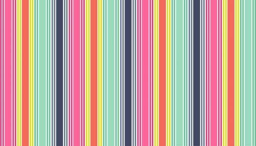 Makower Multi Stripe