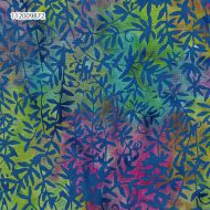Island Batik Green/Blue/Pink