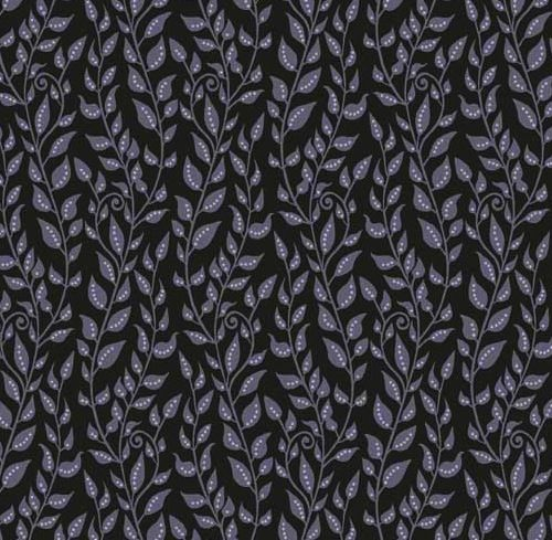 Andover Collection  Enchantment Dark Leaves
