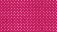 Makower Spots Raspberry