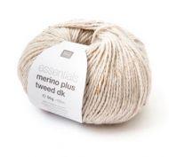Merino Plus Dk Tweed - Ecru 001