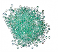 MH 02016 Seed Beads Size 11/0: Crystal Mint