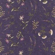 Moda Potting Shed Dark Purple Floral