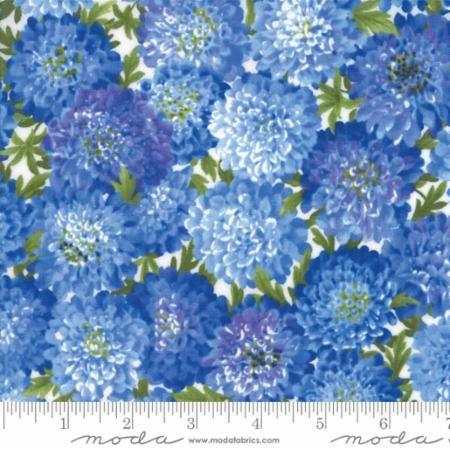 Moda Summer Breeze Blue Flowers