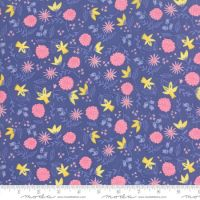 Moda Once Upon A Time Purple Floral