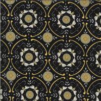 Moda Bee Grateful Geometric Ebony