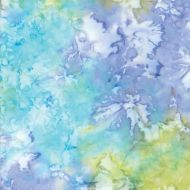 Maui Batiks Blue/ Yellow