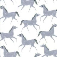 Moda Farm Charm Grey Horses