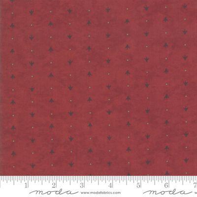 Moda Winter White Red