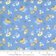 Moda Spring Brook Bluebonnet Floral