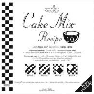 Moda Cake Mix Recipe Patterns