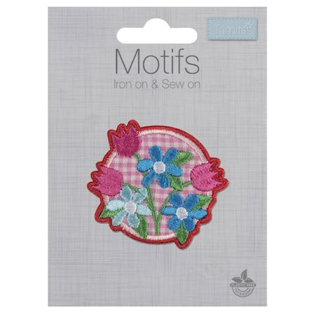 Embroidered Motif - Floral