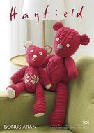 Sirdar Leaflet 7802 Aran Teddy