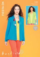 Sirdar leaflet No 7289 Ladies Fiesta Dk Jacket