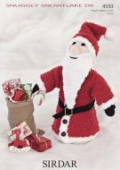 Sirdar Leaflet No 4593 Santa